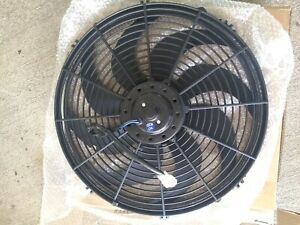 16 Inch Electric Cooling Fan Push Or Pull