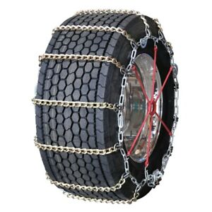 Wide Base Twisted Square Link Alloy Cam 295 40 24 Truck Tire Chains