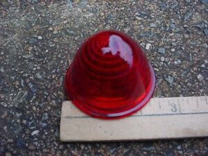 New L472 Red Glass Clearance Stop Tail Marker Lamp Lens