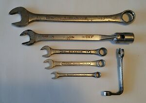 Sk Tools 6 Piece Sae Combination Wrench Set Usa Made