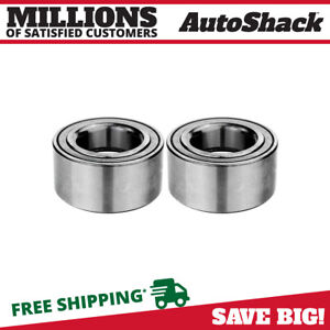 Front Wheel Bearing Pair 2 For Honda Cr v S2000 Element Pilot Civic Acura Tl Rsx