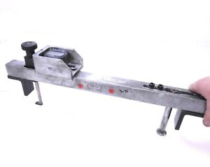 Feg Shallow Diameter Groove Gage 15 16 With Mitutoyo Di Compare Mueller 563