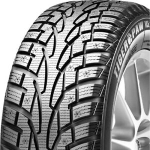 2 New Uniroyal Tiger Paw Ice Snow 3 235 60r17 102t Winter Tires