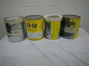 Rm Dupont Yellow Acrylic Lacquer 4 Gallons Restoration Auto Paint Good