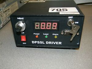 Changchun Ld wl206 Dpssl Driver Mll532 100mw S n Iii9040704 With Key No Laser
