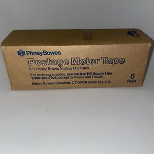 Pitney Bowes Postage Meter Tape 611 0 tr290