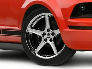 American Muscle Saleen Wheel In Chrome 19x8 5 Fits Mustang 2005 2009 Gt V6