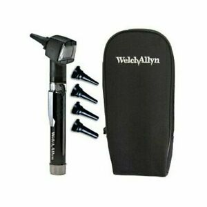 Welch Allyn Diagnostic Otoscope Set Pocketscope Junior With Handle And Soft Case