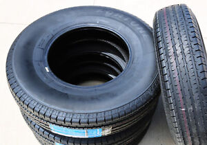 2 New Fortune St01 St 235 80r16 Load E 10 Ply Trailer Tires