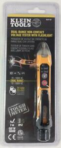 Klein Tools Ncvt 3p Non contact Dual range Voltage Tester With Flashlight New
