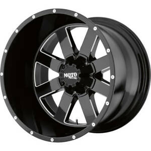 4 18x10 Black Mo962 5x5 5x5 5 24 Rims Terra Grappler G2 Lt295 70r18 Tires