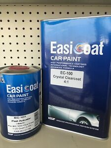 High Gloss Urethane Clearcoat Kit Fast Activatior Ec600 4 1 Mix