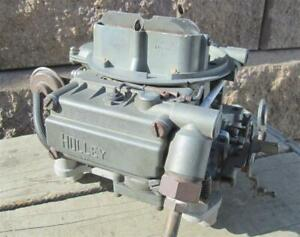 Oem Gm Holley Carb List 3814 1967 Corvette 327 300hp 350hp W Ca Smog Dated 724