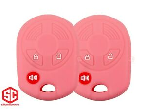 2x New Key Fob Remote Fobik Silicone Cover Fit For Select Ford Vehicles