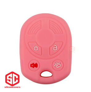 1x New Key Fob Remote Fobik Silicone Cover Fit For Ford Lincoln Mercury Mazda