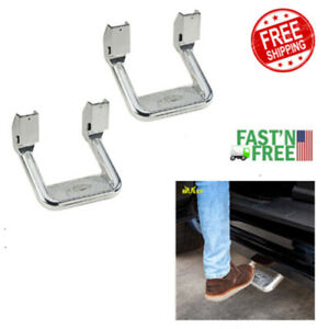 2pc Side Step For Fits Various Trucks From Chevy Ford Toyota Gmc Dodge Ram