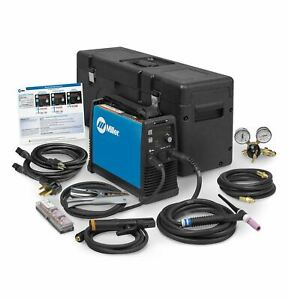 Miller Maxstar 161 Stl Tig And Stick Welder With X case 907710001