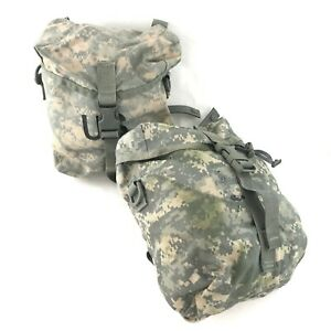 2 USGI MOLLE II Sustainment Pouches for Army ACU Military Rucksack DEFECT $13.99