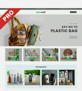 Eco friendly Store Turnkey Dropshipping Website Ecommerce Business For Sale