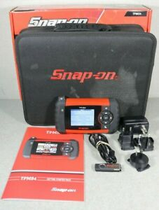 Snap On Tpms4 Tire Pressure Monitor Tool W Original Box 2020 Q1 Software