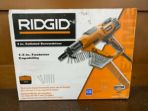 Ridgid 3 In Drywall And Deck Collated Screwdriver R6791 new Never Used