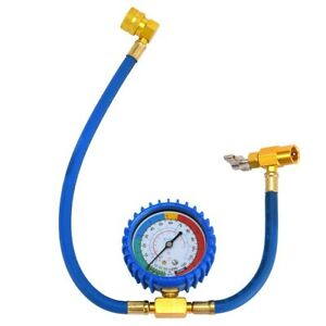 Self sealing R134a Ac Can Tap Gauge Hose Recharge Refrigerant Ac Conditioning