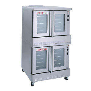 Blodgett Sho 100 e Dbl Double Deck Full Size Electric Convection Oven