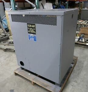 Teledyne 300 Kva 480 Delta To 480y 277 V 3ph Dry Type Transformer 480v 23857