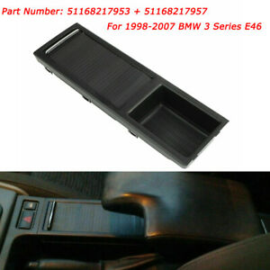 Car Center Console Drink Cup Holder Storage Stand For Bmw E46 3 Series 98 07