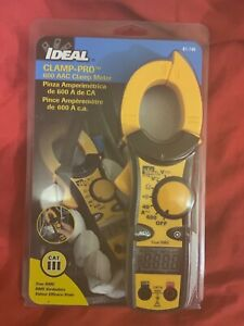Ideal Industries Clamp pro 600 Aac Clamp Meter 61 746 New Factory Sealed