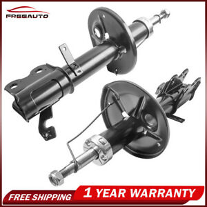 2x Front Left Right Shock Absorbers For 93 02 Toyota Corolla Geo Chevrolet Prizm