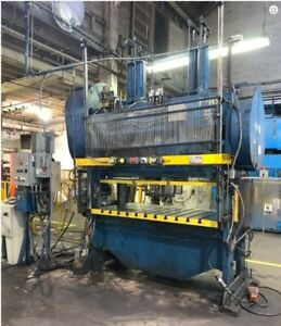 80 Ton Rousselle Straight Side Double Crank Press Planet Machinery Inv 5229