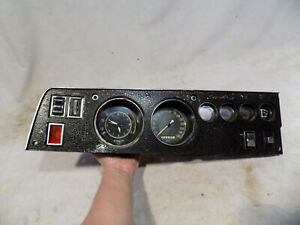 1968 70 Dodge Charger Gtx Tach Dash Cluster Rallye Gauges Roadrunner R T 68 69