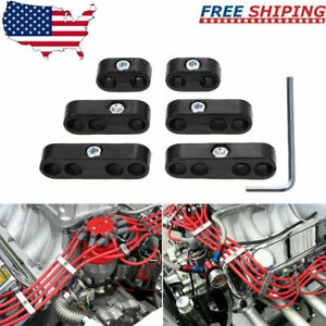 Spark Plug Wire Separators Dividers Looms For Chevy For Ford mopar 7mm 8mm H0h0