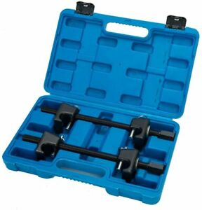 2pcs Macpherson Coil Strut Spring Compressor Install Remover Kit Heavy Duty