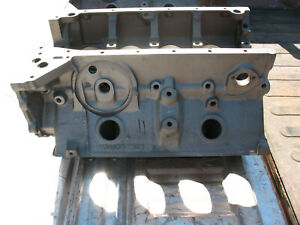 1958 312 Ford Y Block Magna Fluxed Bare And Cleaned No Cracks Edb 6015 E