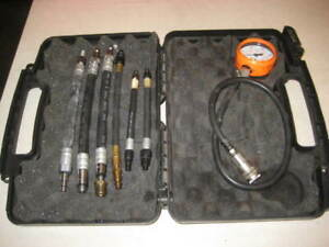Snap On Automotive Compression Test Set In Case Eepv500