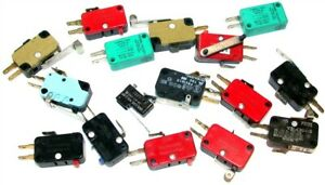 Lot Of 16 Micro Switches