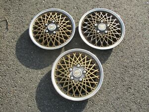 Factory Chevy Monza Corvair Celebrity 13 Inch Wire Spoke Hubcaps Wheel Covers