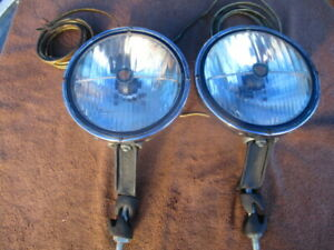 1940 1952 Pair 7 1 2 Inch Trippe Jr Road Passing Lights