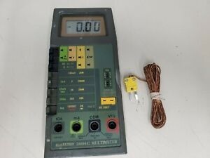Extech 38096c Vintage Industrial Multimeter Tested working Free Ship
