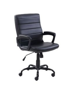Leather Black Office Chair
