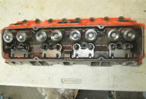 Original Gm 3991492 Cylinder Head Small Block Chevy Camel Hump 2 02 1 60 Valves