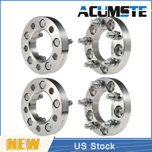 4pcs 1 Wheel Spacers 5x4 5 1 2 X20 For Dodge Nitro Ford Mustang Mercury Jeep