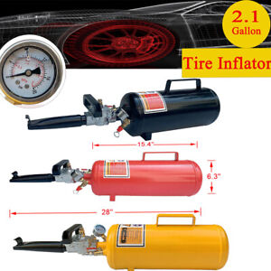 8l Tire Inflator Tool Tire Bead Seater Tank Air Blaster Seating Inflator 3 Color