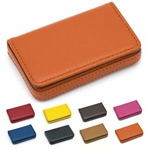 Padike Business Name Card Holder Luxury Pu Leather business Wallet Credit Id For