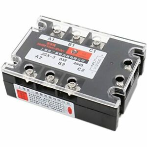 3 Phase Solid State Relay Jgx 3340a 3 32 Vdc Input 480vac Amp Output Dc ac amp