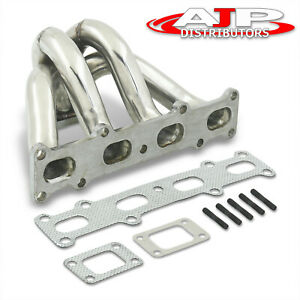 Performance Stainless Steel Exhaust Turbo Manifold For 1994 2005 Mazda Miata