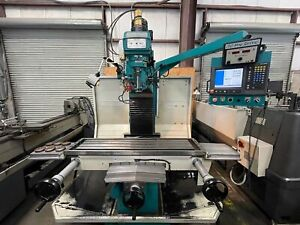Clausing 6bvscnc40 Cnc Bed Mill 40 Taper Millpwr 2007 gmt 2597