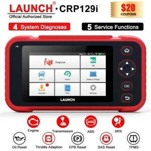 Launch X431 Crp129i Obd2 Scanner Car Diagnostic Scan Tool Abs Srs Oil Tpms Sas